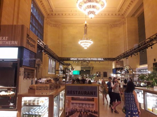 Great Northern Food Hall entrance to the great northern food hall - picture of great