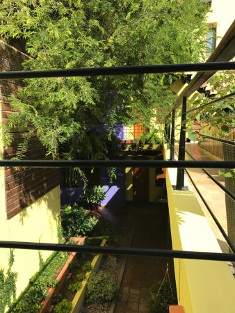 Casa de Isabella - a Kali Hotel: A view from the second floor terrace