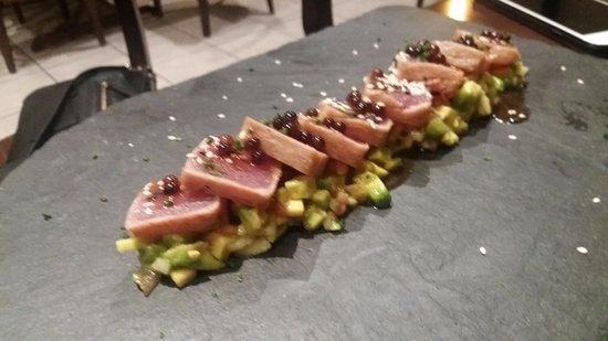 Sant Esteve de Palautordera, Spanien: Tataki de atún