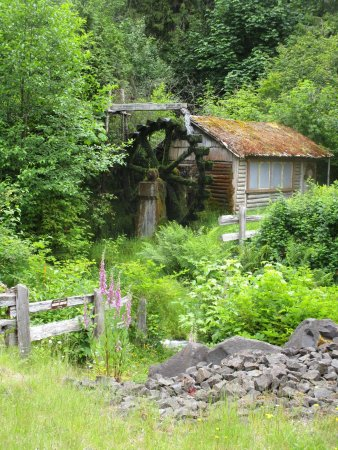 Union, WA: Dalby Water Wheel