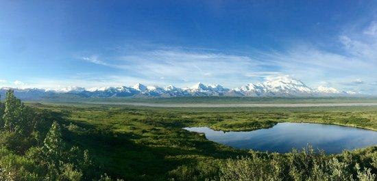 دينالي باككانتري لودج: Denali and the Alaska Range