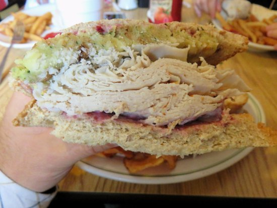 Thanksgiving Sandwich at Mauro's - Southborough (06/Jun/17).
