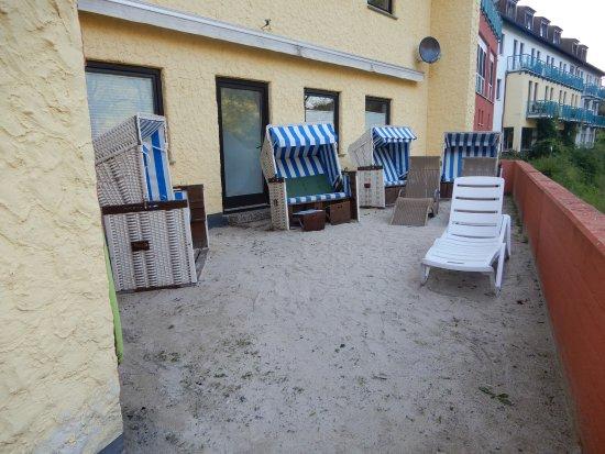 Mayschoss, Alemania: met een aan gelgd strandje
