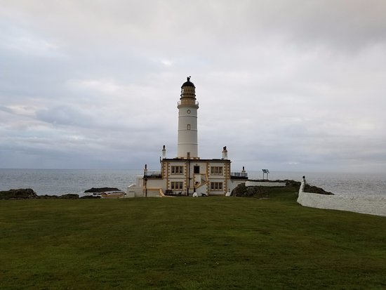 Corsewall Lighthouse Hotel Aufnahme