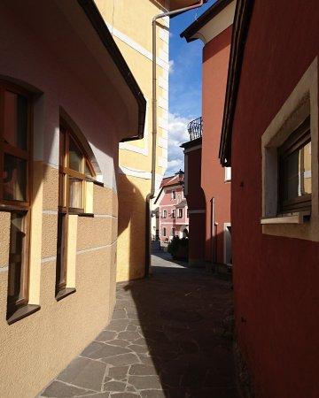 Oberdrauburg, Austria: Gastfreundlich!  Op doorreis naar Kroatië hier heerlijk gegeten en kunnen overnachten. Een mooi
