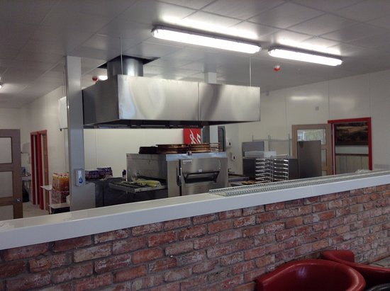 Getting Ready To Open Picture Of Apache Pizza Bangor