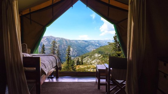 Skyline Bear Valley Glamping venue