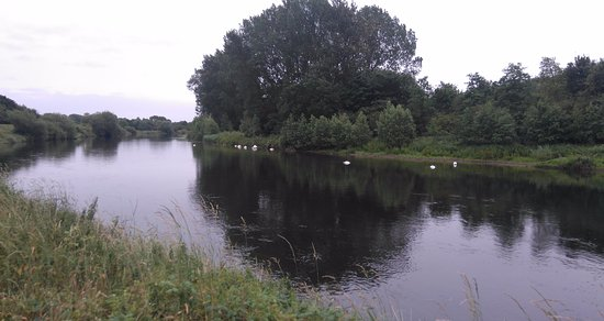 River Trent at the Riverside Hotel