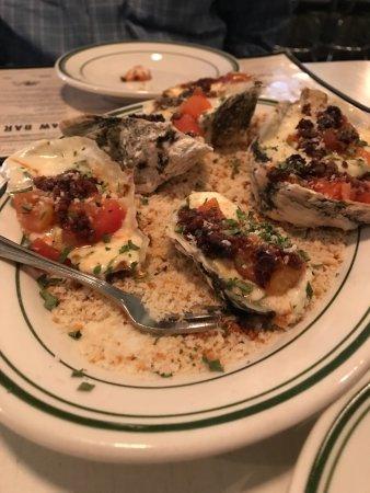 Kinston, NC: Oysters Broilerfeller-The Boiler Room