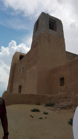 Pueblo of Acoma, Nuevo Mexico: The Chapel