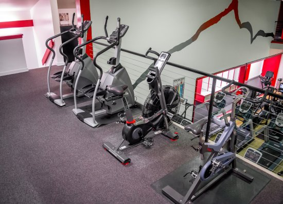 Wilson, WY: Stairsteppers, Airdyne bike