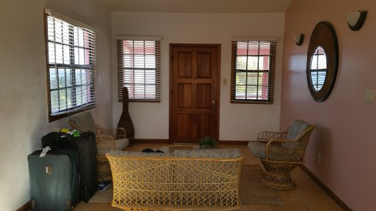 Turneffe Island, Belize: Living room