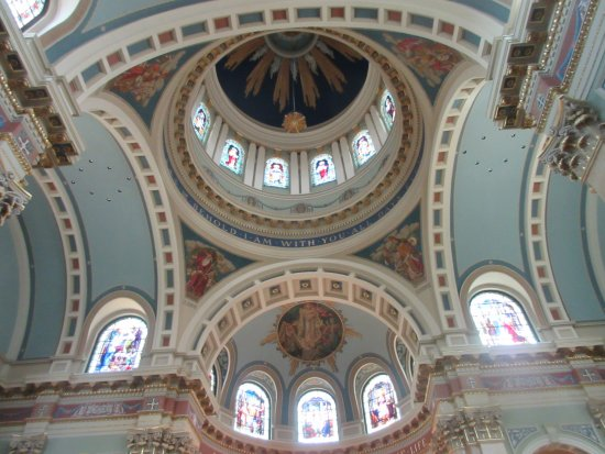 Cathedral of Saint Patrick: Gorgeous dome