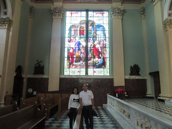 Cathedral of Saint Patrick: Beautiful stain glass windows