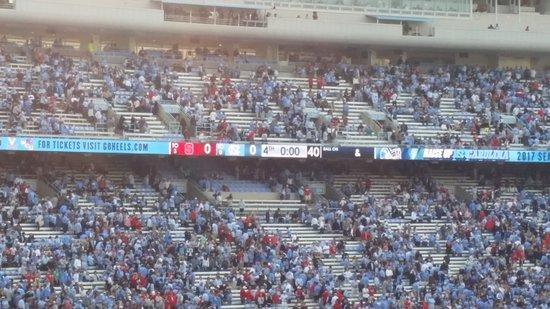Kenan Memorial Stadium : End of a losing game.