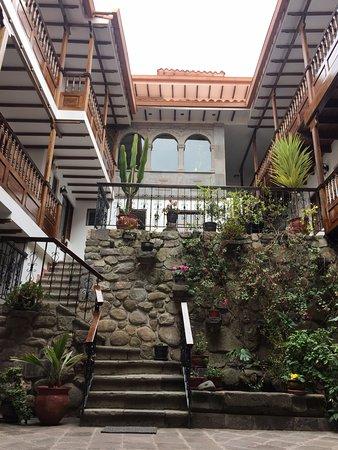 Andenes al Cielo: Courtyard