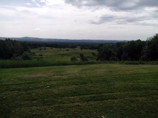 Stillwater, NY: View across the battlefield