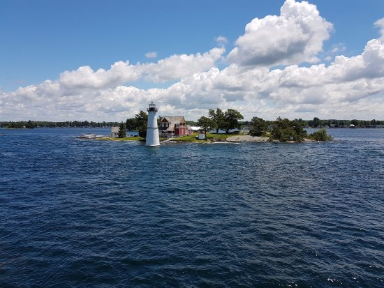 Gananoque, Kanada: lighthouse in the channel