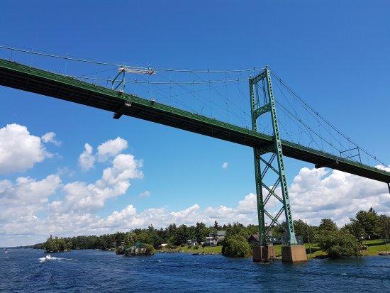 Gananoque, Canada: Ivy Lea International bridge linking Ontario, Canada and New York State, USA