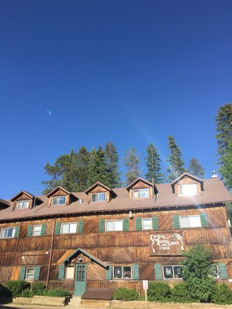 """Rapids Lodge Restaurant: When they denied us a table outside because of """"weather."""""""