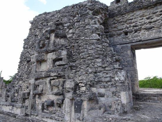 Becan Ruins: Cima de la estructura X