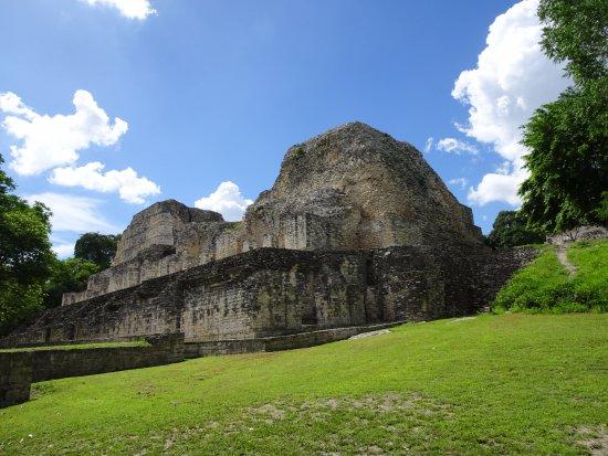 Becan Ruins: Estructura I