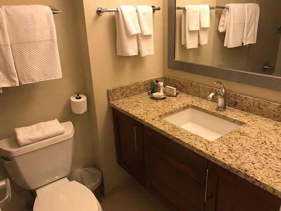 Hilton Grand Vacations on Paradise (Convention Center): Sink