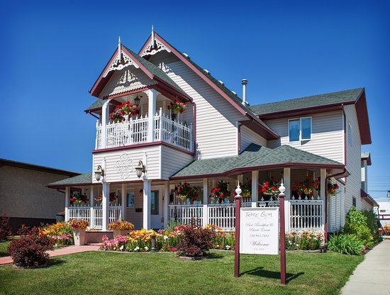Stony Plain, Canada: 1910 Restored and renovated Bed and Breakfast. First class!