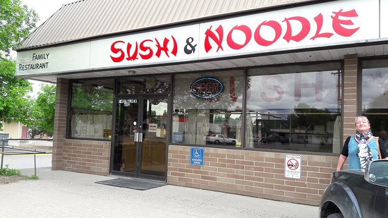 Sushi and Noodle: Front of Sushi &  Noodle
