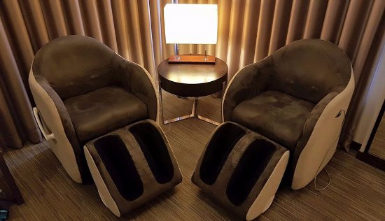 Park Taipei Hotel Mage Chairs In The Room