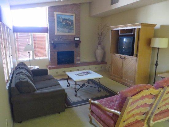 omni tucson national resort the living room of our casita unit - The Living Room Tucson