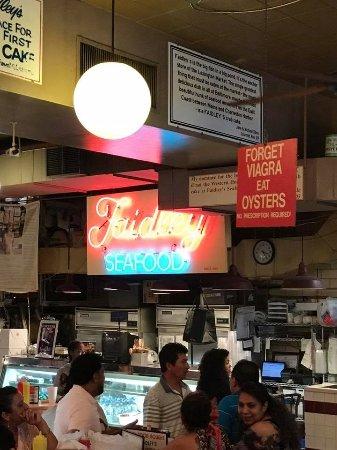 Faidley Seafood Baltimore Downtown Menu Prices