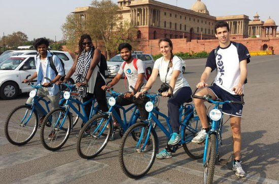 New Delhi Morning Bicycle Tour