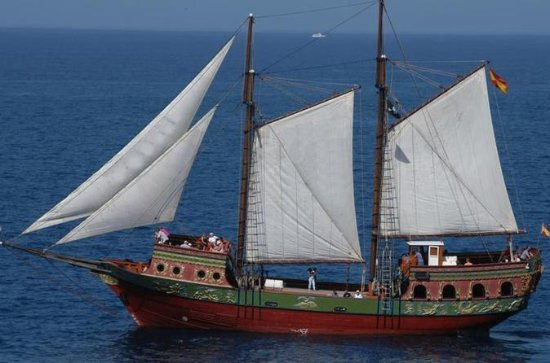 Sail aboard the pirate ship Timanfaya -Transfer Included