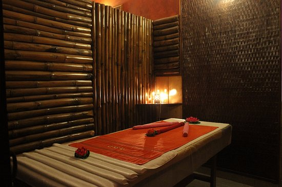 McLeod Ganj, India: Massage cabin