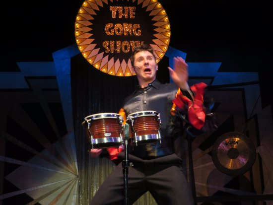 The Gaslight Theatre: The Gong Show olio...this guy was so intense!