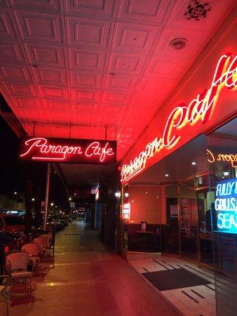 Paragon cafe Goulburn