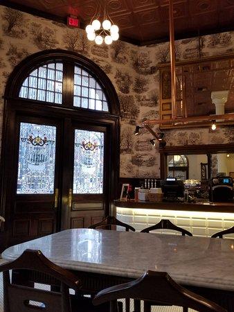 The Driskill: 1886 Dessert Cafe Downstairs