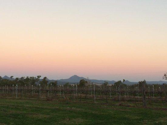 Purga, Αυστραλία: Rosy sunset