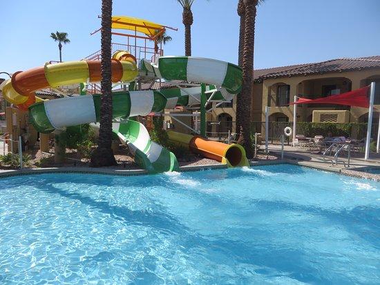 Holiday Inn Club Vacations Scottsdale Resort Water Slides Fiesta Pool