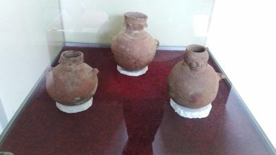 Churubamba City Hall: jars
