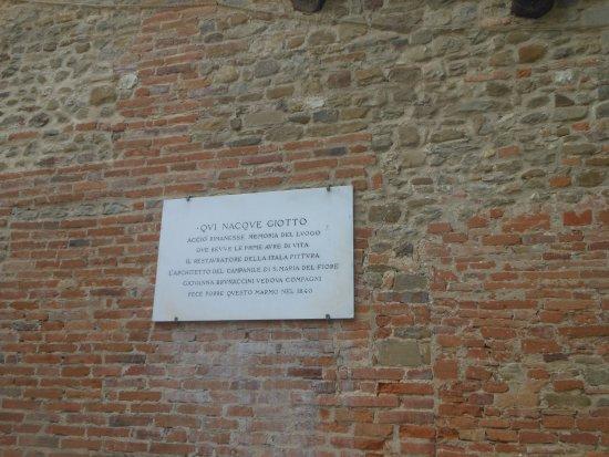 Vicchio, Italien: lapide in memoria