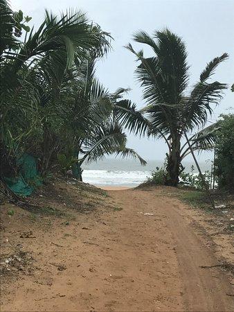 Paradise Village Beach Resort: beach access from hotel