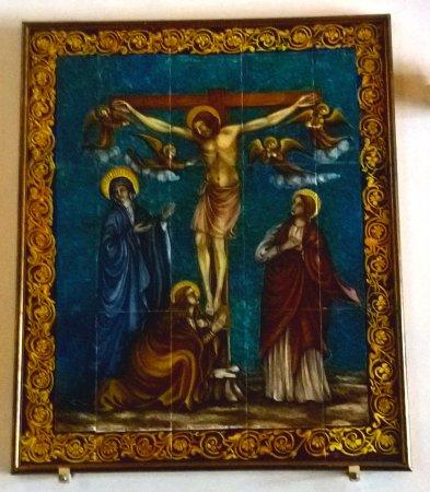 Chiesa della Madonna di Loreto : pittura su mosaico