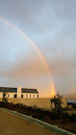 Hermanus, South Africa: Somewhere over the rainbow you will find Benguela Cove