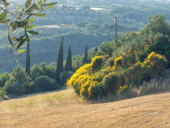 Monte Antico, Italia: una delle viste panoramiche