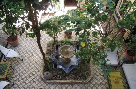 Patio of Riad Dar Tamlil