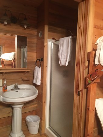 Shell Campground: Great shower, very clean