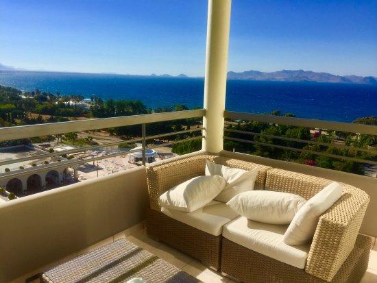 Kipriotis Panorama Hotel & Suites: Шикарный вид с балкона