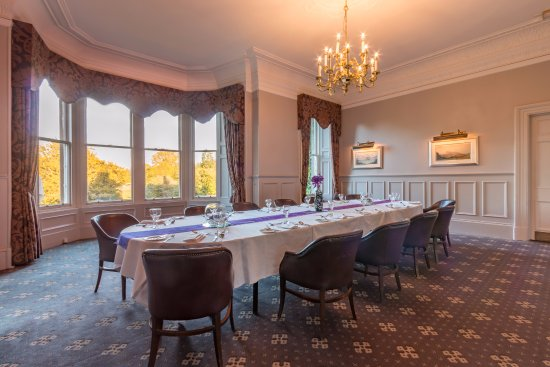 Patio room private dining picture of norton house for Best private dining rooms edinburgh
